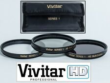 3PC HD Filter Set (UV+Polarizer+FLD) For Panasonic Lumix G Vario 14-45mm Lens