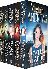 Women's Flowers in the Attic Virginia Andrews 5 Books Collection Set Dollanger