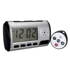 Digital Spy Camera Alarm Clock Hidden Video Camera Cam DVR Motion Detector MT