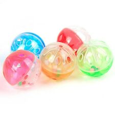 Funny Tinkle Bell Ball Pet Toy Plastic Kitten Playing Balls Toys Pet Supplies