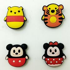 Kid Party Gift 4pcs PVC Magnetic Sticker Mickey/Minnie/Tiger/Bear Fridge Magnet