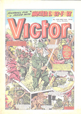 THE VICTOR COMIC COLLECTION ON DVD. 1961-1992 + EXTRAS. 1006 ISSUES. UK COMICS.