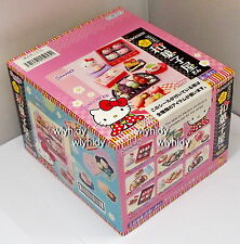 Sanrio HELLO KITTY  Hannari Japanese sweets shop  Box Set - Re-ment  ... h#2420