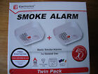 SMOKE ALARM Ei100BWX - NEW- WITH BATTERY. TWIN PACK