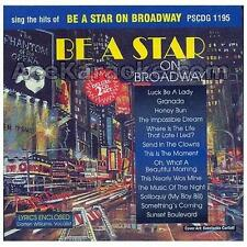 Sing The Hits Of Be A Star On Broadway Karaoke