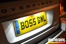 RANGE ROVER SPORT-SMD/LED number plate lighting kit-bright white Xenon OVERFINCH