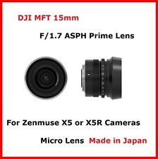 DJI Inspire 1 15mm f/1.7 MFT ASPH Prime Micro Lens for Zenmuse X5 or X5R Cameras