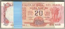 20 Rupee Bundle ★ I G Patel ★ Konark Wheel Issue ★ 100 Serial Notes ★ Rare ★