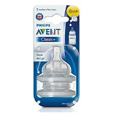 AVENT CLASSIC NEWBORN FLOW TEATS 0M+ BRAND NEW & SEALED