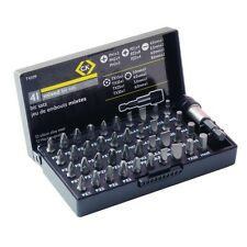 CK T4509 - Mixed Screwdriver Bit Set of 41 - With Case - **FREE P&P**