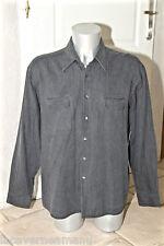 jolie chemise grise coton homme  HUGO BOSS black label taille XXL EXCELLENT ÉTAT