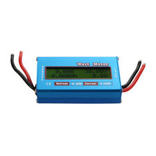 Digital LCD Watt Meter Power Volt Amp Meter 60V RC Battery Solar Wind Analyzer