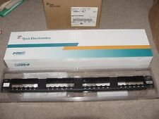 Tyco Amp NetConnect 24-Port 1U Discrete Patch Panel Assembly SL Series - NEW