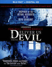 Deliver Us from Evil + Digital Eric Bana  (Blu Ray Movie) SEALED, NEW (GS 39-2)