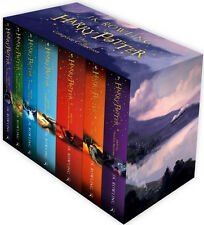 The Complete Harry Potter 7 Books Collection Boxed Gift Set NEW J. K. Rowling PB