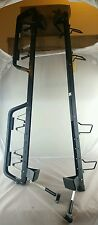 """Vintage USA made XL 43"""" long lockable  Barrecrafters Ski/roof Rack with key"""