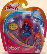 "Winx Club BLOOM Concert Collection 3.75"" figure Fairy Nickelodeon Jakks Pacific"