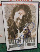 Signed TNA Wrestling: Mick Foley - Hardcore Legend, Good Autographed