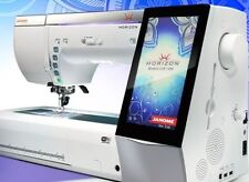 JANOME HORIZON MEMORY CRAFT 15000 V1  QUILTING, EMBROIDERY MACHINE