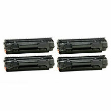 4 Toner Cartridges for HP LaserJet P1005 P1006 M1212nf M1217nfw M1134 CB435A 35A