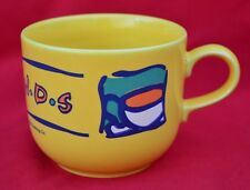 LARGE 'FRIENDS' TV SERIES  CUP - STAFFORDSHIRE TABLEWARE - FABULOUSLY COLOURFUL!