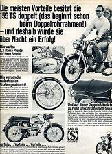 Victoria  ---159 TS  --Victoria,Sachs Gruppe,DKW,Express--Werbung von 1967-