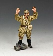 KING AND COUNTRY WW11 RUSSIAN  RED ARMY SOLDIER SURRENDERING RA023