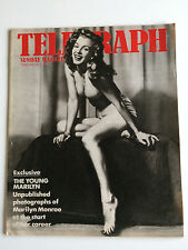 "Marilyn Monroe ""The Young Marilyn"" UK Sunday Telegraph Magazine Earl Moran"