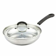 Cook N Home Stainless Steel Cookware 10-inch Saute Pan With Lid (02426) PNN