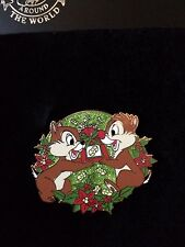 Disney Store Disney Pin Holiday Series Chip & Dale Limited Edition 250 Chipmunks
