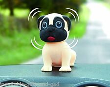 Nodding Pug Dashboard Accessory Pug Dog Gift Cute Pug