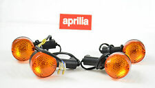 NEW GENUINE APRILIA RS 250 98-03 2LH+2RH TURN INDICATORS AP8124134/ AP8124135 GB