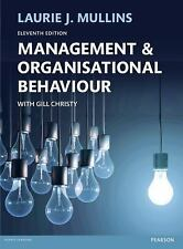 Management & Organisational Behaviour 11E by Mullins