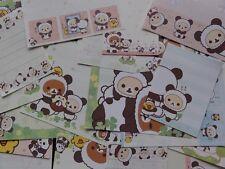 San-X Rilakkuma Panda 48 pc Memo cute gift stationery paper bear kawaii sale