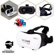 {5th Generation} VR Case Box 3D Google Glasses & For Android/iOS,free shipping
