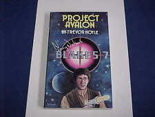 VINTAGE BLAKE'S 7 SEVEN PROJECT AVALON TV TERRY NATION PB BOOK NEW UNUSED