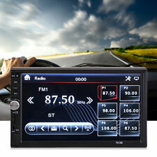 "Car Stereo 7"" inch Touch screen Double 2 Din Radio Mp3 CD/DVD Bluetooth Player"