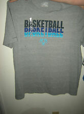 Brand New Mens Gray & Blue Under Armour Charged Cotton Loose Fit Shirt, Size XXL