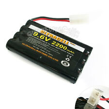 2 9.6V 2x4 8 AA 2200mAh NIMH Rechargeable Battery Pack
