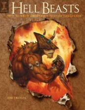 Hell Beasts: How to Draw Grotesque Fantasy Creatures-ExLibrary