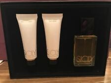 SICILY DOLCE&GABBANA EDP 50 ML / 1.7 OZ SPRAY WOMEN SET WITH LOTION & SHOWER GEL