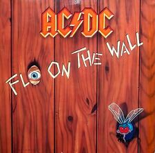 AC/DC Fly On The Wall LP German Atlantic 7812631 Lyric Inner 1985 Excellent