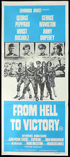 FROM HELL TO VICTORY Daybill Movie poster George Peppard