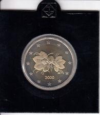 Finnland 2 Euro 2000 Kursmünze spiegelglanz/PP aus KMS - in Münzrähmchen