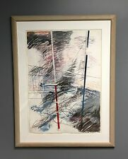 AWESOME ANDRAS MARKOS COLOR AQUATINT SIGNED PROFESSIONAL WOODEN FRAME PLEXIGLAS