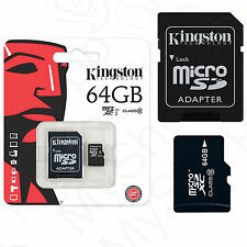 Original Speicherkarte Kingston Micro SD Karte 64GB für Samsung Galaxy J3 2016