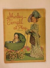 VINTAGE Paper Doll - Shirley Temple at Play - Saalfield