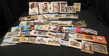 Large Lot Vintage Postcards Booklets Miniature Souvenir Photos WW II 40's 50's