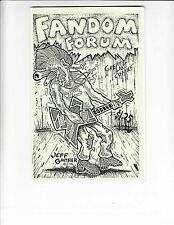 Fandom Forum #3 VF/NM jeff gaither cover - pin-up mixes cerebus with doctor who