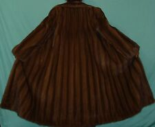 Amrican Legend Brown Mahogany Mink Fur Coat Size 6-8 EXCELLENT CONDITION